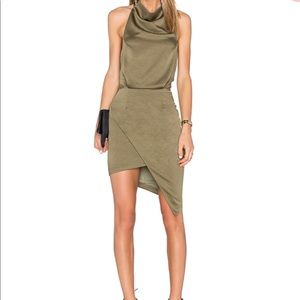 Elliatt Camo Dress in Khaki - Revolve